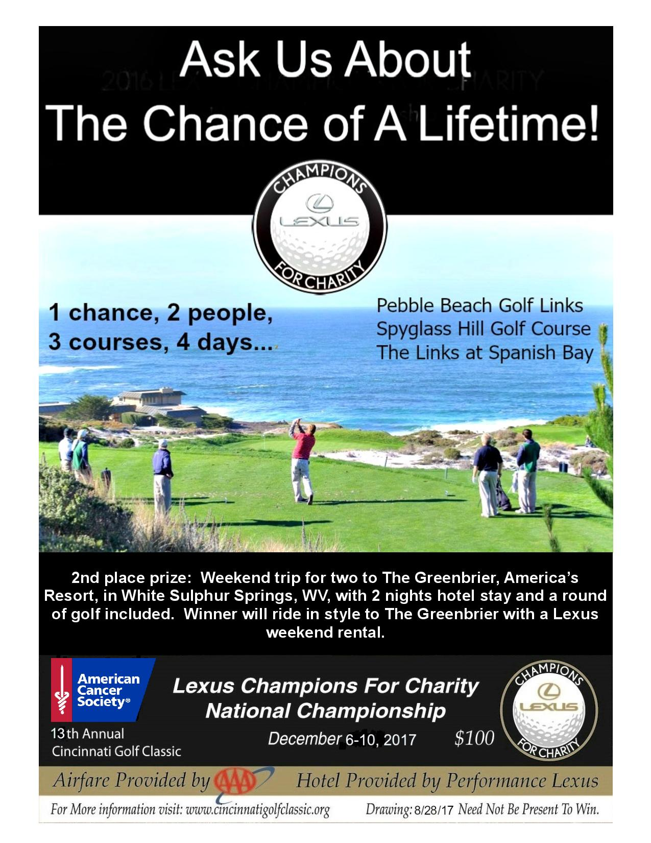 Image for 13th Annual American Cancer Society Cincinnati Golf Classic