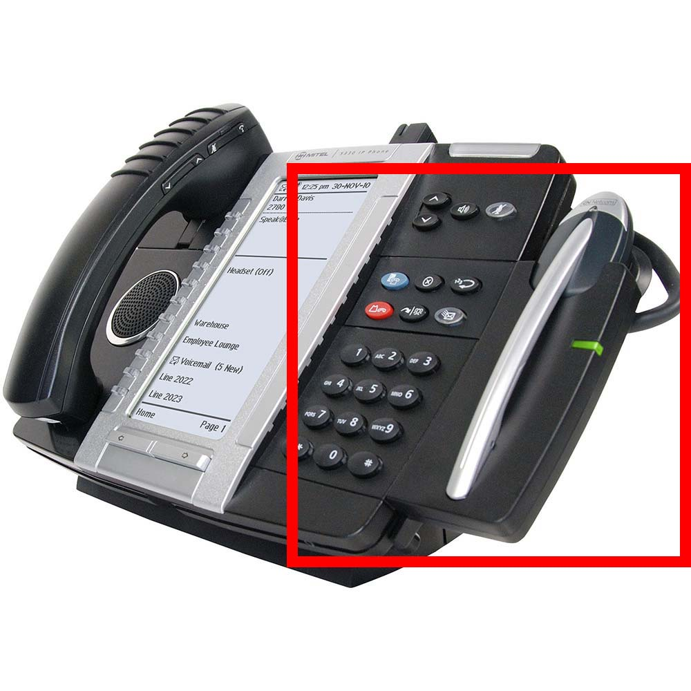 Cordless (DECT) Headset with Charging Cradle (does not include DECT Module)