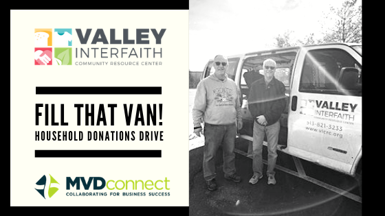 MVDconnect Fills Up Van with Donations