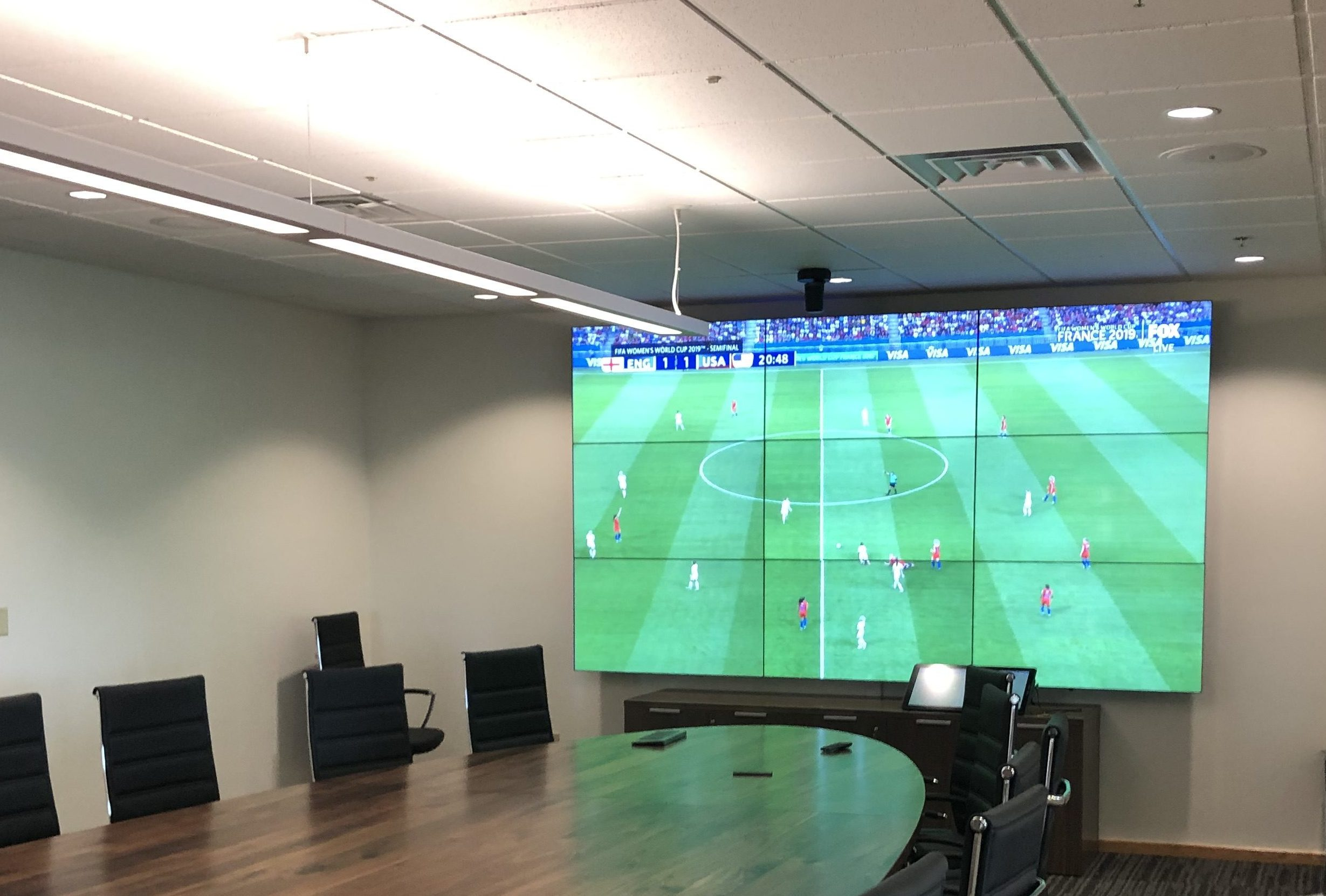 Video Wall Boardroom