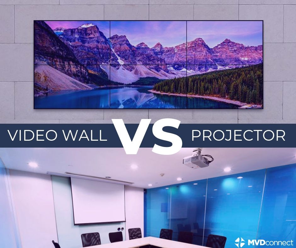 Video Wall vs. Projector